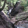 Chestnut Ridge Park waterfall mountains