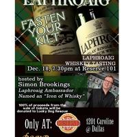 Laphroaig Scotch Tasting