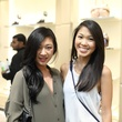 Tod's grand opening Fifi Phi and Michelle Liu