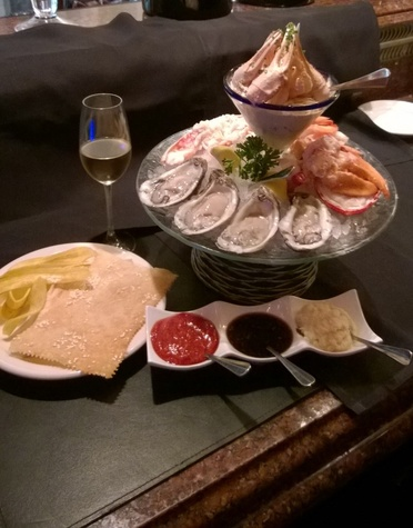 Vic & Anthony's seafood tower