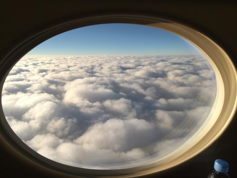 View from Tilman Fertitta Gulfstream GV window May 2014