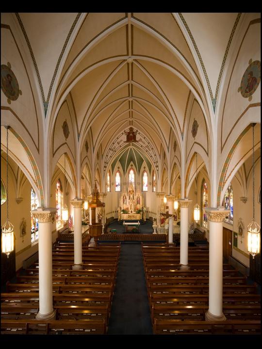 01, AIA Houston, Sacred Spaces, audio photo essay, November 2012, St. Mary's Catholic Church, Fredericksburg