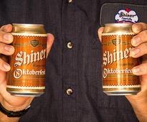 Shiner Bock Oktoberfest beer