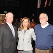 Robert Jackson, from left, Sharon Adams and Rick Ferguson at the Houston Arts Alliance Reception for the Arts January 2014
