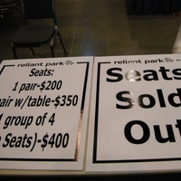 Alamodome auction and sale preview November 2013 seats sold out