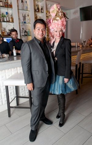 28 Sergio Morales and Vivian Wise at the Stages Repertory Theatre Soiree Marie October 2014