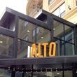 Alto Pizzeria, new sign