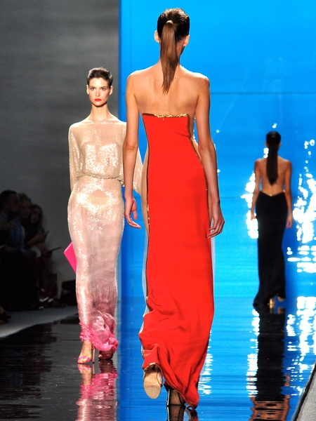 Clifford, Fashion Week spring 2013, Reem Acra, September 2012