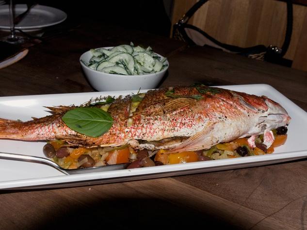 1 John Besh dinner at Underbelly November 2013 fish