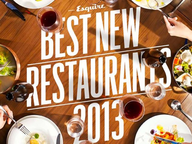 Esquire Best New Restaurants 2013 cover October 2013