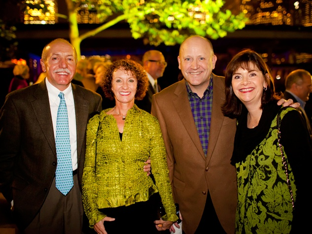 12 Gary and Kathryn Dudley, from left, and Tim and Roxann Neumann at the Buffalo Bayou Partnership's Green and Growing Gala November 2013