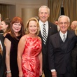 Joe Amberson, from left, Barbara Van Postman, Marianne and Dr. Robert Ivany, Peter Brown and Nancy Ames at the Preservation Houston Cornerstone Dinner February 2014