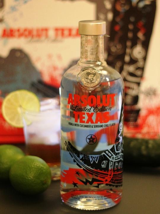 Absolut Texas Vodka