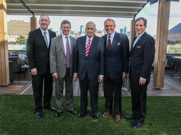 Rob Steigerwald, John W. Mariott, III , J.W. Marriott, Jr., Lee LaRochelle, Mark Woelffer
