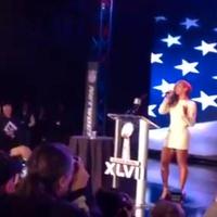 Beyonce, National Anthem, Super Bowl press conference
