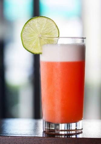 Maiko Bar & Bistro red tuna cocktail
