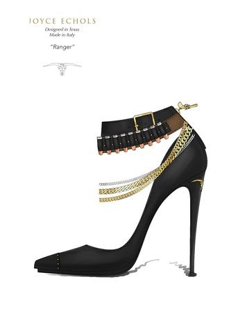 Joyce Echols shoes June 2014 Ranger_ from lookbook