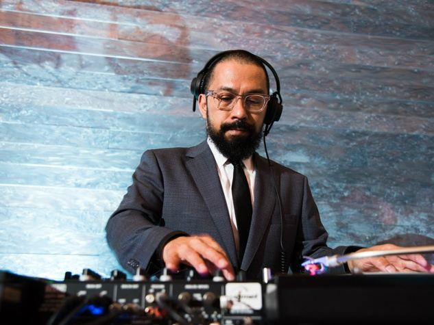 Blanton Museum Art on the Edge gala February 2016 DJ Mel