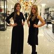 Suzanne Saperstein fashion December 2013 Alexis Saperstein, left, and Emily Banks