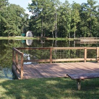 Freedom Place lake dock