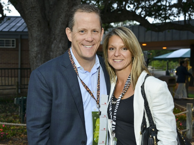 14 Houston Zoo Ball April 2013 Jamey Rootes, Melissa Rootes