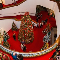 News, Alley Theatre Christmas Tree party, Nov. 2015