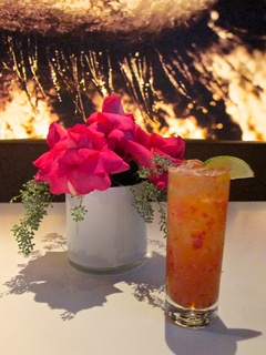 Marene, Breast Cancer Awareness Month, restaurant deals, October 2012, Katsuya, cocktail, Berry Evocative cocktail