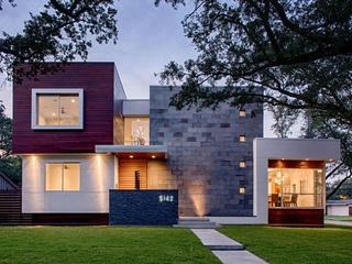 Home on 2015 Houston Modern Home Tour