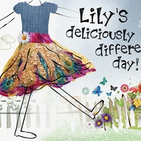 Yvette Grove: Lily's Deliciously Different Day