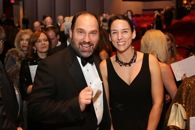 1 Aaron and Sarah Stai at the HGO Concert of Arias February 2015