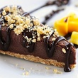 Raw chocolate cheesecake at Be Raw Food & Juice in Dallas