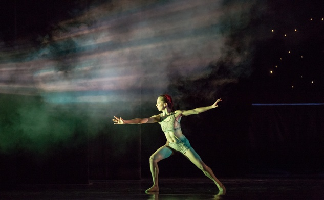 Houston Ballet Four Premieres September 2013 Return with Melody Mennite choreographed by Garrett Smith