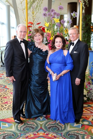 Symphony Ball, May 2015, 6679_Harry and Cora Sue Mach; Betty and Jesse Tutor