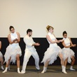 "Dancers in White at the Valvisions Foundation ""Cinema, Canvas & Cuisine"" March 2015"