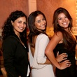 2855 Manpreet Dhillon, from left,Patti Contrasto and Roxie Puente at the Crimson grand opening party July 2014