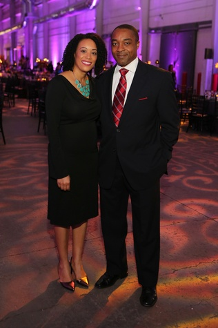 Loran and Jein Gadson at the March of Dimes Signature Chefs event October 2014