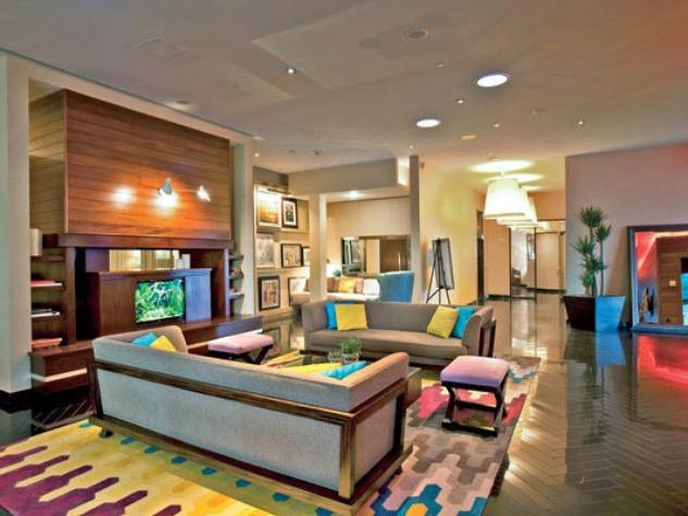 Lobby of Hotel Derek in Houston