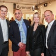 4 Clayton Black, from left, Vahid Tabrizi and Amy and Thomas Stroh at the Art on the Avenue benefit November 2014