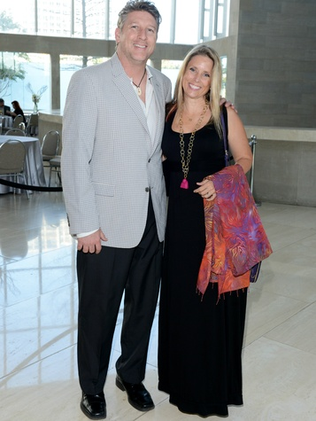 Brad Oldham and Christy Coltrin