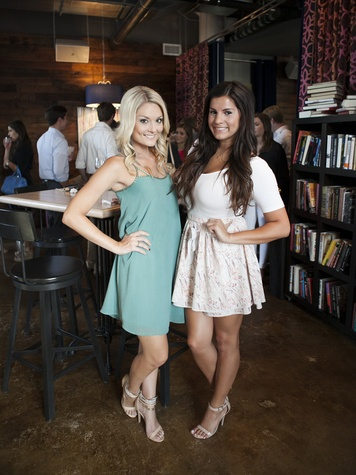Amber Leigh Hartman, Lauren Ramos, CultureMap Dallas Social Cocktail Party, NYLO Southside
