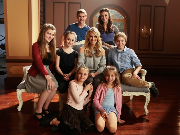 The Sound of Music with Carrie Underwood and the von Trapp children