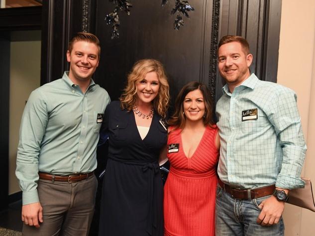 Mason Mcentire, Hillary Graham, Ashley Costales at YHHCC Fall Mixer