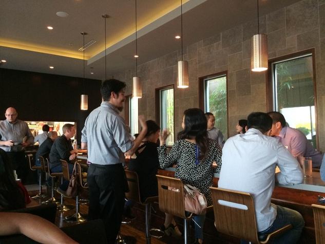 Dosi Korean restaurant interior