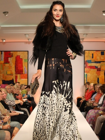 Fashion&#39;s Night Out, Neiman Marcus, September 2012, model, runway, fashion show
