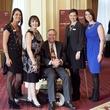 Shannon Nelson, Jean Bateman, Walker Bateman, Taylor Mallia, Leath Weatherly, on the move luncheon
