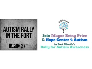 Autism Rally in the Fort