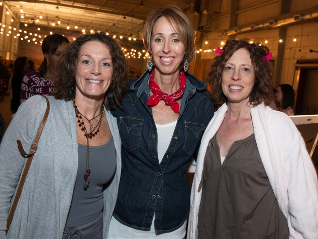 Cathy Crath, from left, Shannon Mann and Laurie Silver at the Hope Stone Gala March 2014