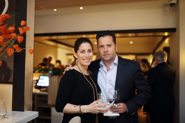 4 Kristin and Carlos Aldecoa at the BCN dinner for Texas Children's Hospital September 2014