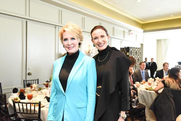 El Centro luncheon, Feb. 2016, Mary Ann Wilkins, Karen Love
