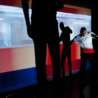 15_CAMH, Steel Lounge Underground, July 2012, projections, Pablo Gimenez-Zapiola